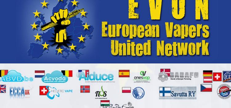 Brev fra de europæiske dampforeninger til WHO