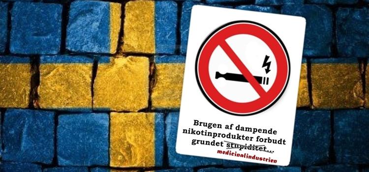 Sverige forbyder nikotinholdige e-væsker