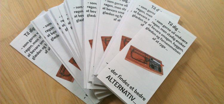 Informationsmateriale om e-damp – til gratis download
