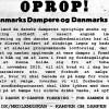 OPROP – til Danmarks Dampere og Danmarks Folk!