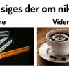 Nikotin er ikke værre end en kop kaffe