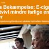Kræftens Bekæmpelse: E-cigaretter er uden tvivl mindre farlige end cigaretter