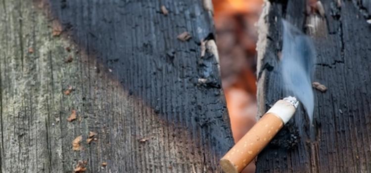 Hver anden dødsbrand er resultat af rygning