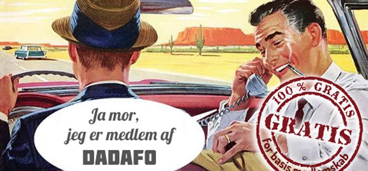 Bliv medlem af DADAFO!