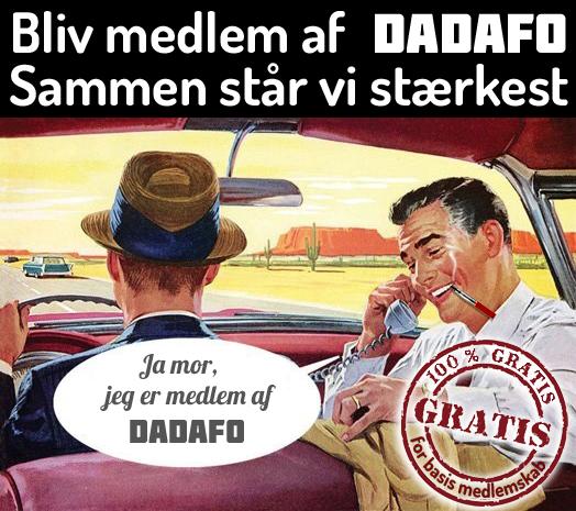 Bliv medlem af DADAFO