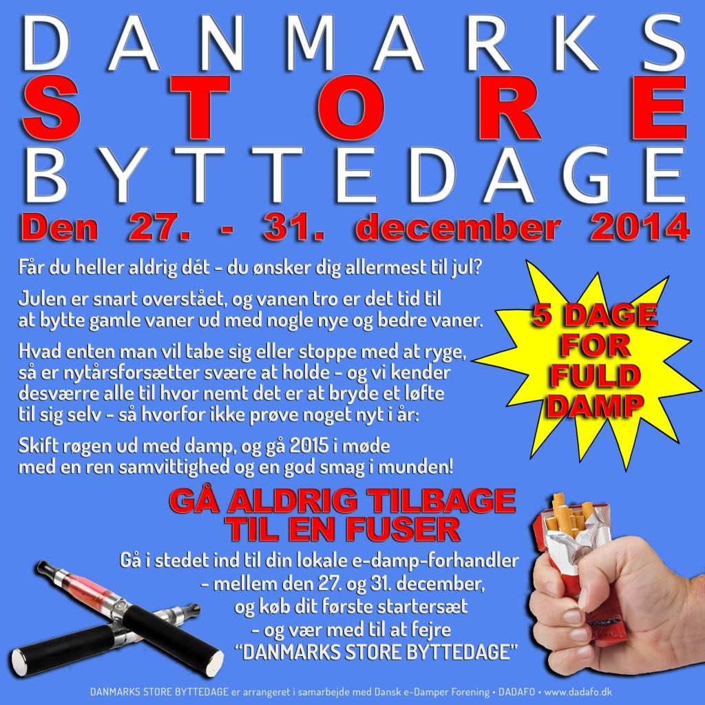 Danmarks Store Byttedage